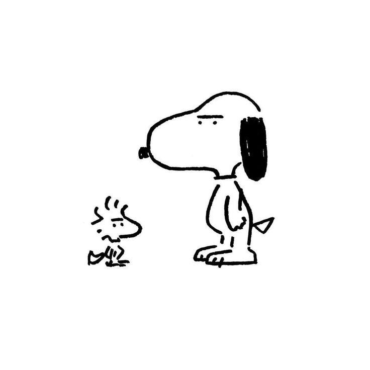 Snoopy & Woodstock.#