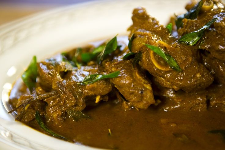 Jaffna Lamb Curry is a spicy and robust flavored Srilankan Lamb delicacy. Lamb marinated in spices, coconut milk and tomato paste cooked to a thick gravy.