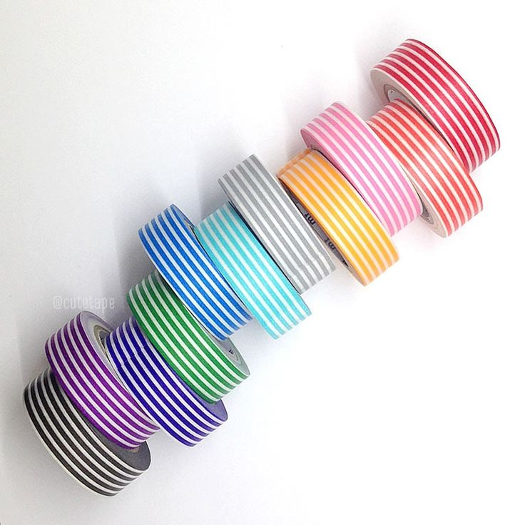 MT Thicker Line Stripe Washi Tape Japanese