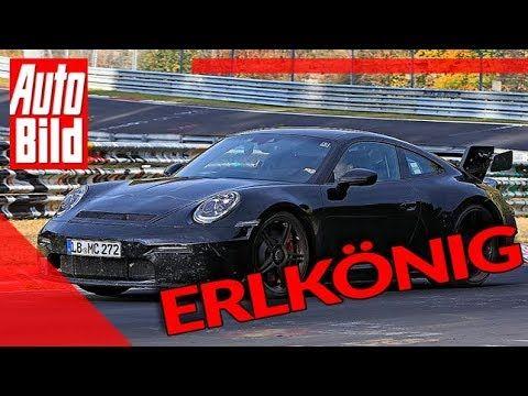 Porsche 911 GT3 (2020): sports car – Erlkönig – racetrack – YouTube