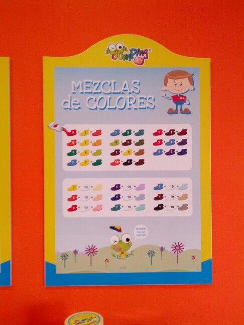 Tabla de mezcla de colores