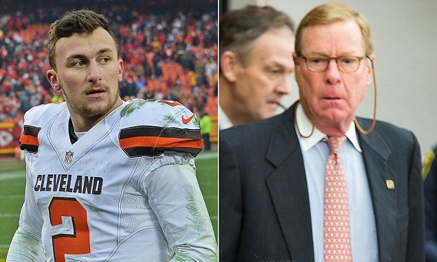 Johnny Manziel's attorney accidentally sends text about plea deal | Daily Mail Online
