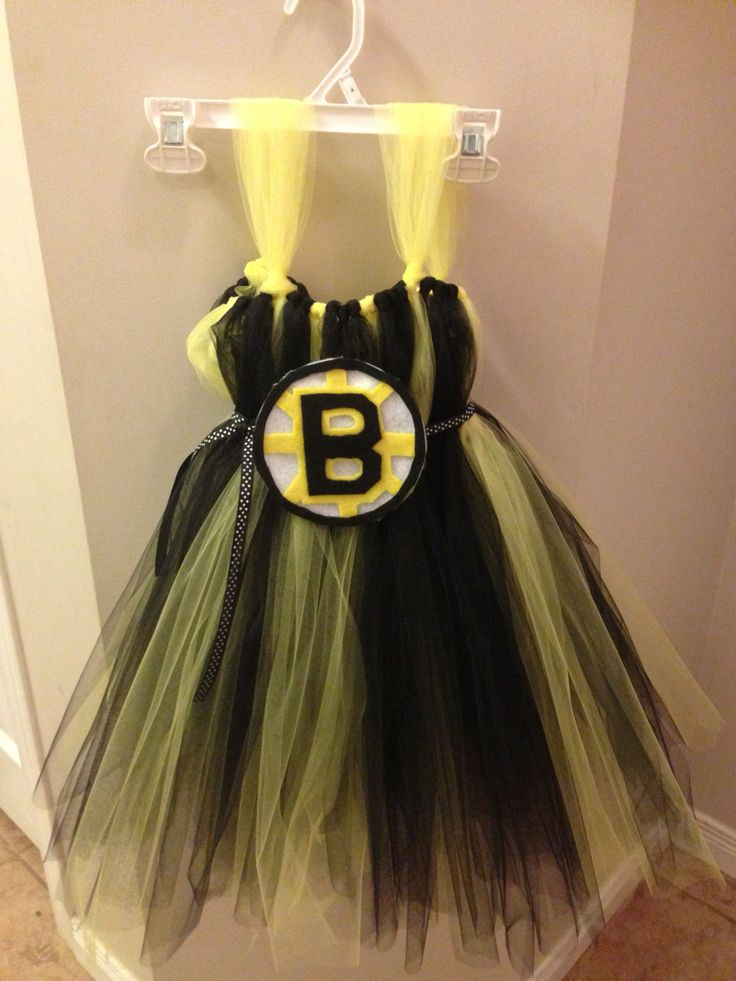 Boston Bruins tutu dress