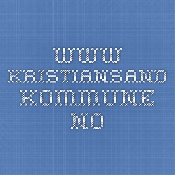 www.kristiansand.kommune.no