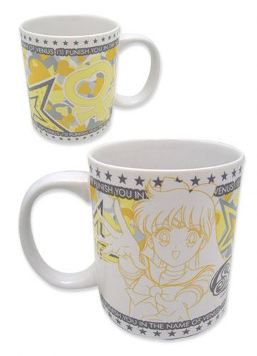 New official Sailor Venus mug! http://www.moonkitty.net/reviews-buy-sailor-moon-mugs.php