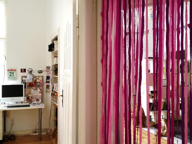 Crepe Paper Door Curtain Jaden S Birthday Pinterest