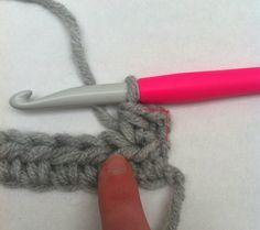 La demie-bride les bases du crochet tutoriel en français, french tutorial, débutant, gratuit.