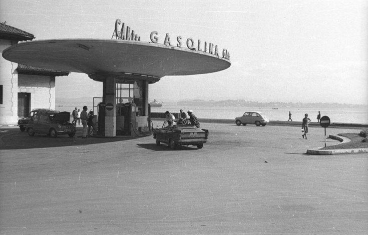 La gasolinera de los Jardines de Pereda en tiempos del 600