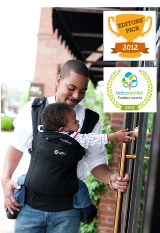 Boba 3G Carrier Awarded Top Baby Carrier by Baby Center #bobawearing - my fave print only because it's what my hubby will wear!