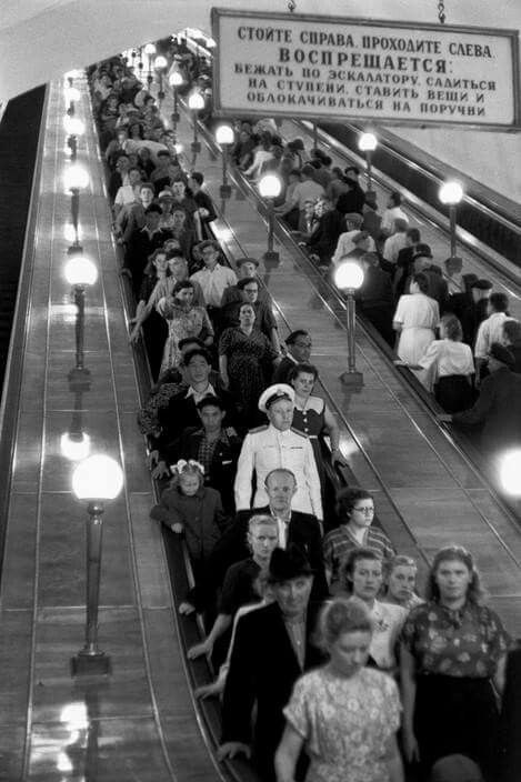 I rode on this exact escalator yesterday!! Nothing has changed