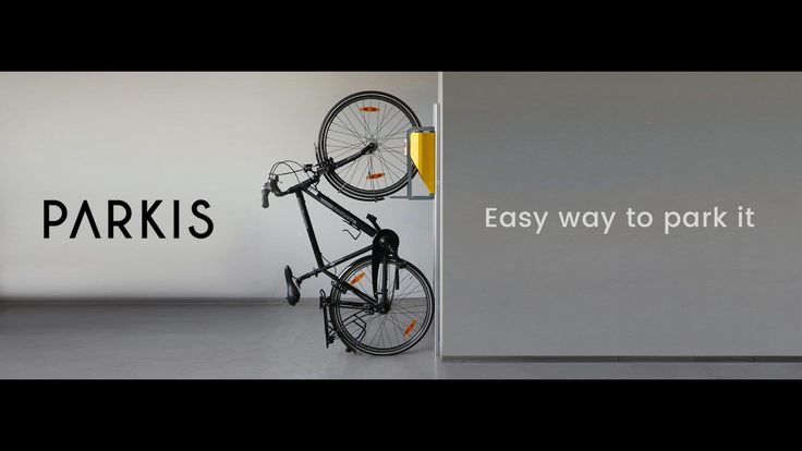 The first effortless vertical bike parking system is on the way. It saves space, is easy to use and looks stylish!