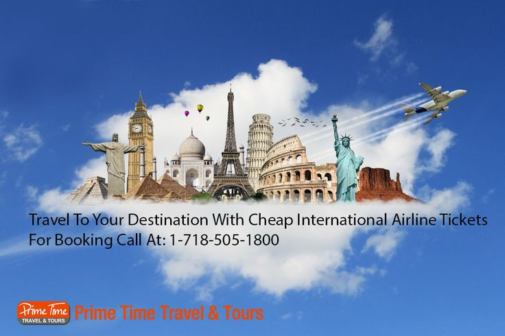 Travel To Your Destinations With Cheap International Airline Tickets  Today, finding cheap international airline tickets is a very difficult process. You may be the owner of your business or working for a company but when it comes to finding cheap airline tickets everyone needs an expert opinion. Therefore, you may need to contact the travel agencies for buying the affordable tickets to the preferred destinations.  http://www.primetimetravelnyc.com/cheap-international-airline-tickets/