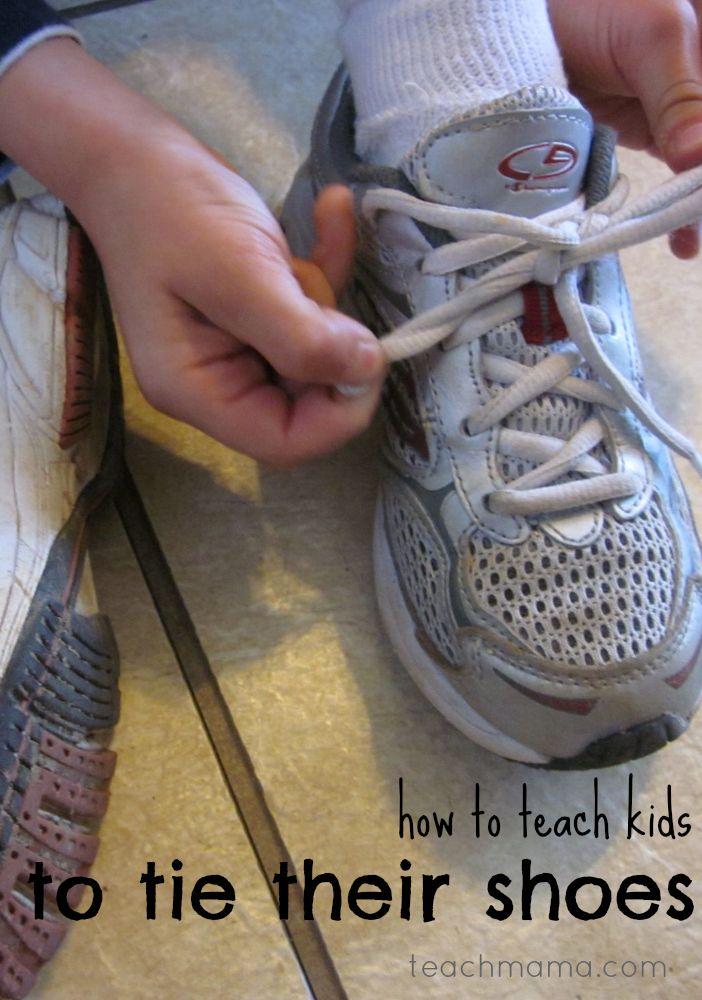 How To Teach A 6-Year-Old To Tie Shoes In 5 Minutes ...