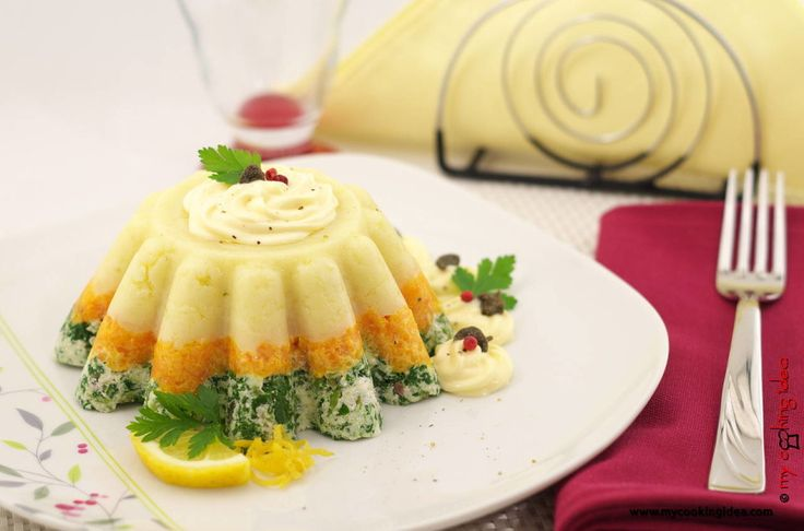 budino freddo alle verdure - my cooking idea