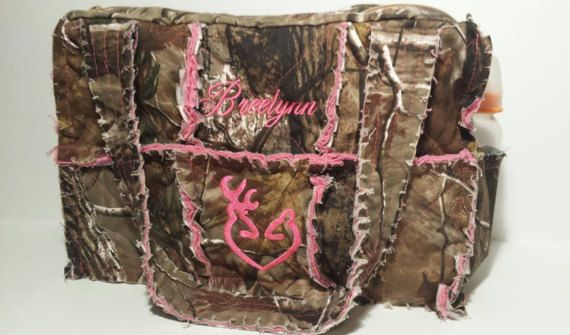 Hey, I found this really awesome Etsy listing at https://www.etsy.com/listing/234192997/realtree-camo-diaper-bag-large-camo-rag
