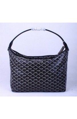 Goyard Fidji Hobo Bag Black