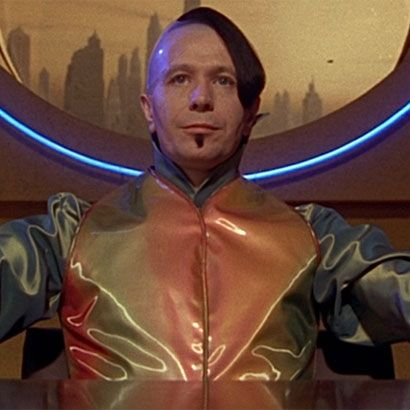 Gary Oldman in the role of Jean-Baptiste Emmanuel Zorg for the 1997 film The Fifth Element.