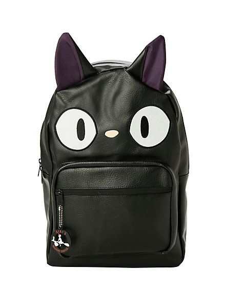 Studio Ghibli Kiki's Delivery Service Jiji Character Backpack | Hot Topic