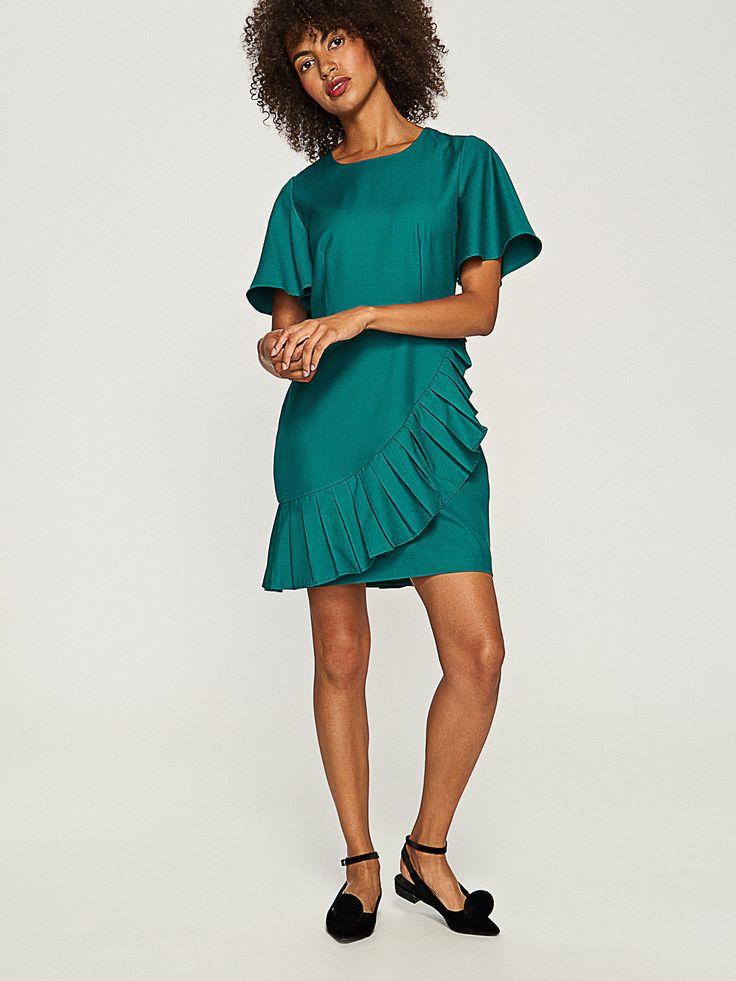 Vásárolj online! Rakott szoknyás ruha, RESERVED, RR961-76X