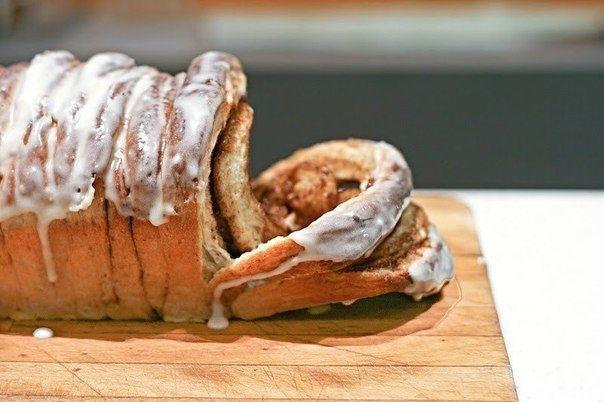 Фото к рецепту: Разваливающийся хлеб с корицей