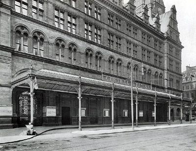 Glasgow Central Station, 1910
