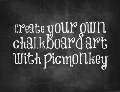 DIY Chalkboard Art Printables | Literally Inspired