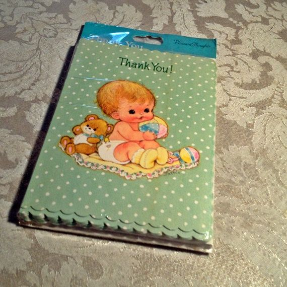 Vintage Baby Shower Thank You Cards: 40 Best Images About Gibson Greetings On Pinterest