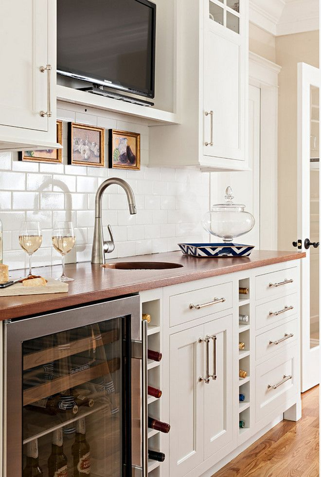 Kitchen bar cabinet. Adding a bar cabinet in your kitchen is perfect when your…