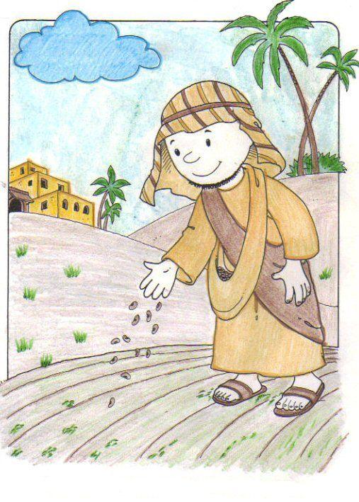 """""""...Eis que o semeador saiu a semear.""""  Mateus 13:3   A PARÁBOLA DO SEMEADOR TEXTO BASE  Mateus 13:1-23; Marcos 4:1-20; Lucas 8:4-15  OBJE..."""