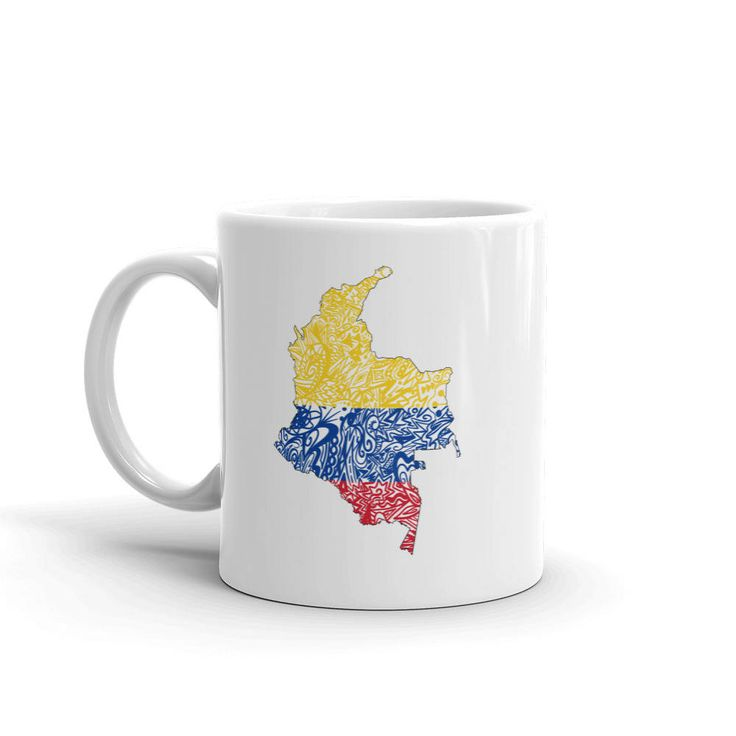Colombia On World Map%0A Colombia Mug  Colombian Coffee Mug  Colombia Flag Mug  Colombia Map Mug   Colombia