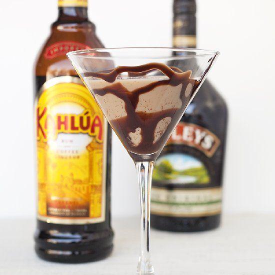 Kahlua Baileys Mixed Drinks