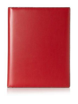 50% OFF LODIS Women's Audrey Letter Pad Portfolio, Red