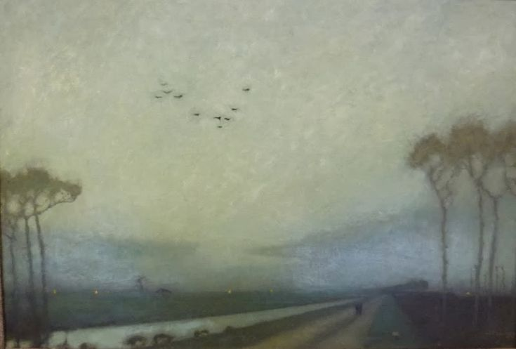 Dusk, Jan Mankes, 1914