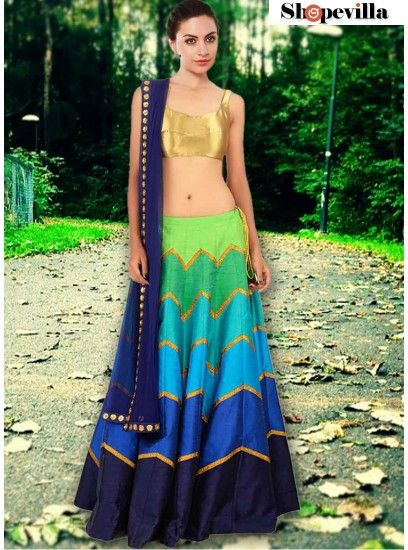 Admirable Multi Color Navratri Lehenga Choli-FKFBL065