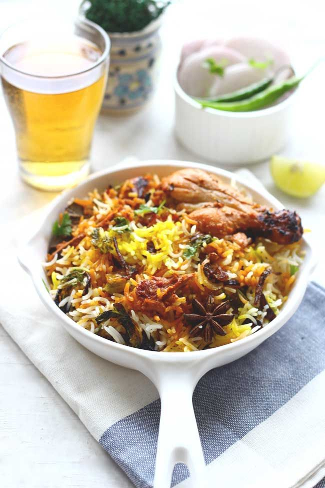 Who doesn't love a good, delicious homemade Chicken Biryani for lunch? Learn how to make biryani with leftover chicken curry in few minutes. funfoodfrolic.com
