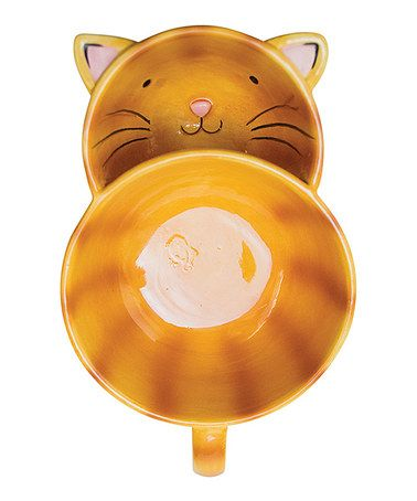 Loving this Cat Two-Section Soup Mug on #zulily! #zulilyfinds