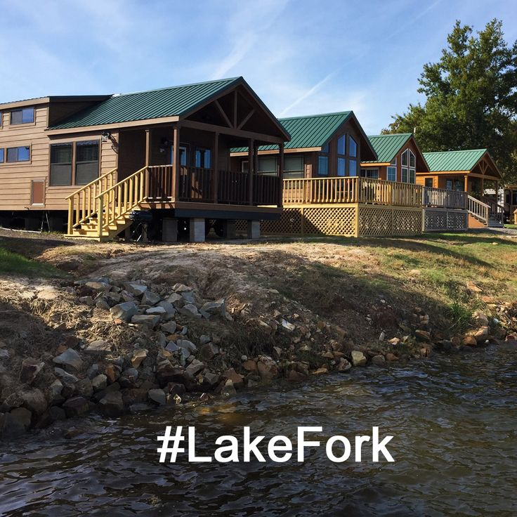 Stay Waterfront For Your Lake Fork Trip At Popeu0027s Landing Marina