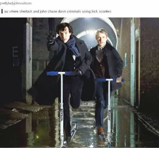This is one of the best photoshops for Sherlock yet...