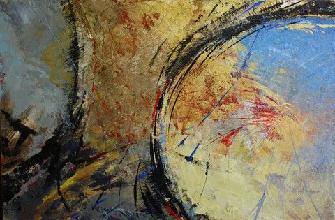 Organics #4 by Jacqueline Crawley.Sometimes all you need is some great colour. Available from $40.