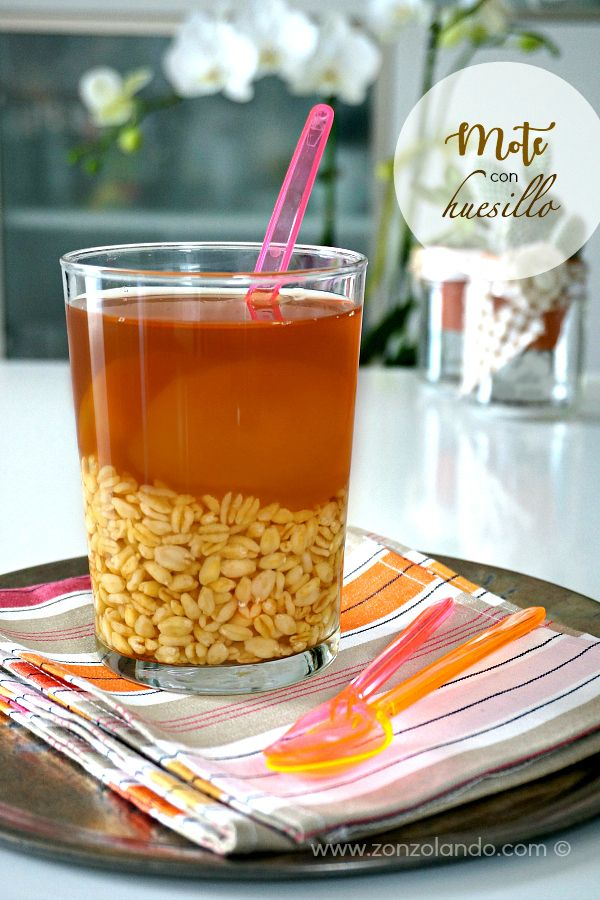 Mote con huesillo - Wheat with peaches | From Zonzolando.com