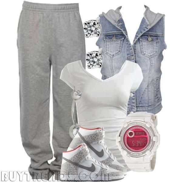 lazy sweatpants outfit - photo #33