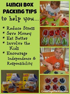 This is the BEST site for lunchs and cute easy idea's I have ever seen!  and I love her charts for having Brady get involved with helping me pack what he wants.