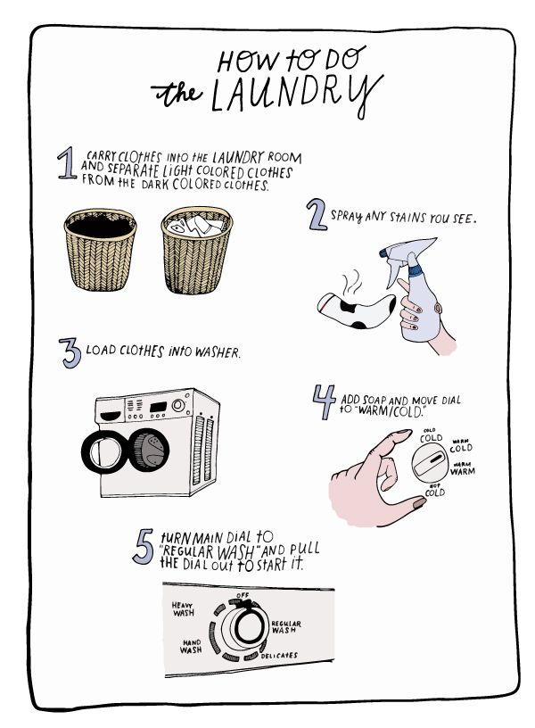 essay on how to do laundry Process essay: doing laundry starting college life is something that many people have to do, and then new responsibilities come in addition, there is something that almost anybody thinks about it, but this is always there, and it is 'doing laundry.