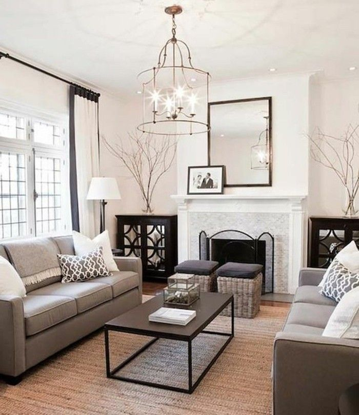1001 ideas for a chic gray and white living room on cozy apartment living room decorating ideas the easy way to look at your living room id=17496