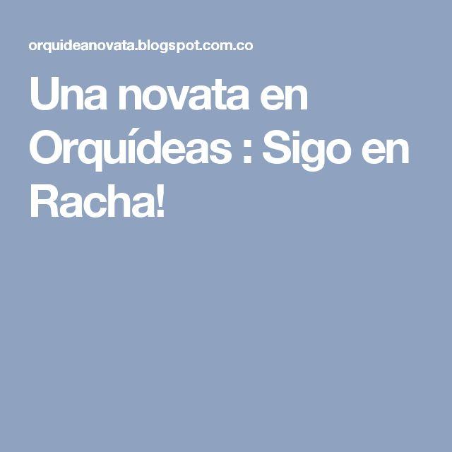 Una novata en Orquídeas : Sigo en Racha!