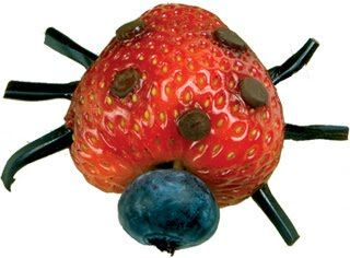 Children's Learning Activities: Ladybug Strawberry