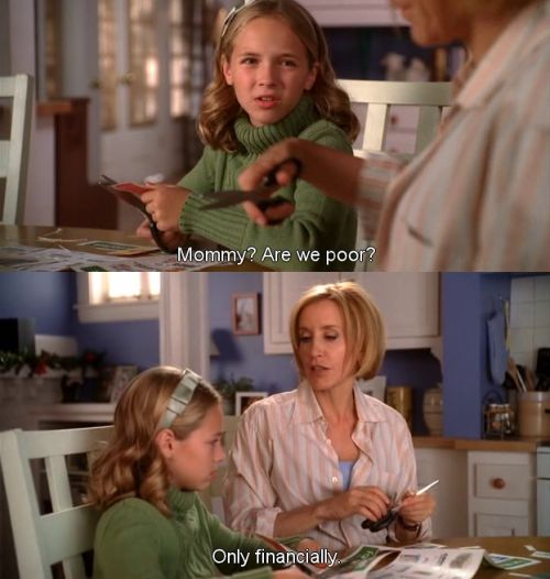 Mommy, are we poor? ~ Desperate Housewives Quotes ~ Season 6, Episode 10: Boom Crunch #amusementphile