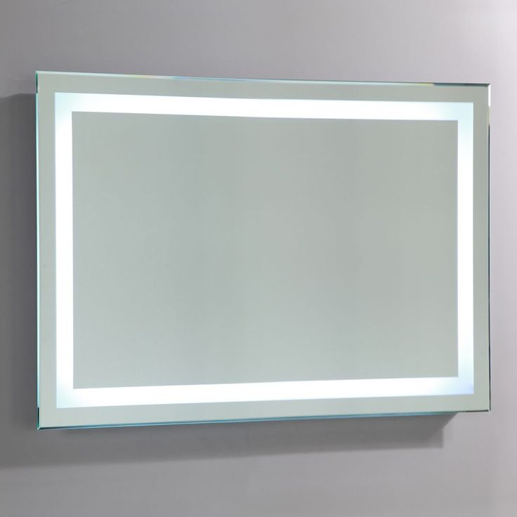 Vanity Art LED Lighted Mirror With Touch Sensor 28 Inches High X 43 Wide