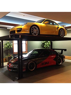 American Custom Lifts - Residential Garages
