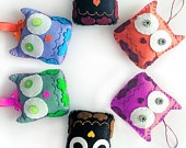 DIY Felt Pattern Cat with Patches, Fabric Cat Toy, TaraCat, DIY PDF Sewing Pattern, Felt Animal Tutorial. $3.90, via Etsy.
